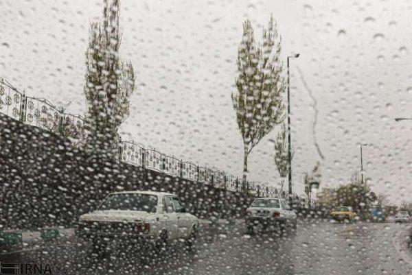 اخر هفته بارانی درکشور
