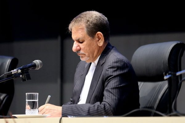 معاون اول رئیس جمهوری : تعیین جانشین رئیس ستاد فرماندهی اقتصاد مقاومتی در خوزستان و بوشهر
