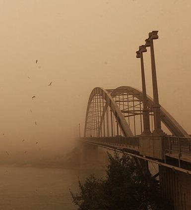 مدیرکل هواشناسی خوزستان: چشمههای گرد و غبار خوزستان هنوز فعالاند