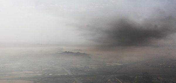 بررسی هوای اهواز برای تشخیص عامل آلودگی روزهای اخیر