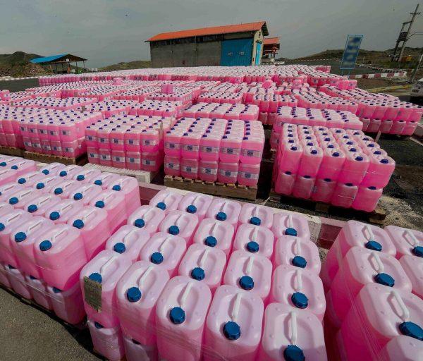 توزیع ۳.۵ میلیون لیتر آب ژاول در خوزستان و ۲۷ استان از سوی پتروشیمی