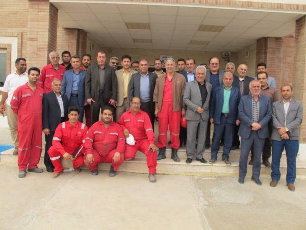 گزارش تصویری بازدید سیدعبدالله موسوی مدیر عامل شرکت ملی حفاری ایران از کارگاه های پشتیبانی لوله مغزی سیار
